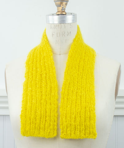 Little Mohair Scarf Using Loopy Mango Mohair So Soft