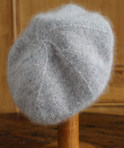 Cashmere Beret Using Brooklyn Tweed Loft & Rowan Kidsilk Haze