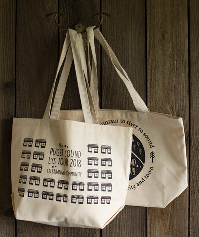 The Puget Sound LYS Tour 2018 Tote