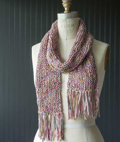 Magic Three-Yarn Scarf - Summer 2017 Version