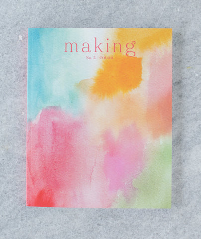Making No. 5: Color