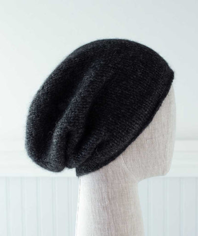 Minimalist Hat Using Blue Sky Fibers Techno