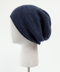 Minimalist Hat Using Plucky Knitter Snug