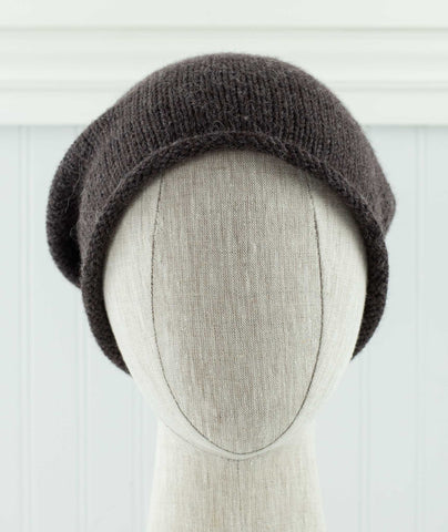 Minimalist Hat Using Rowan Alpaca Soft DK