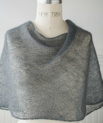 Mohair Bias Loop Project - Beaded Version