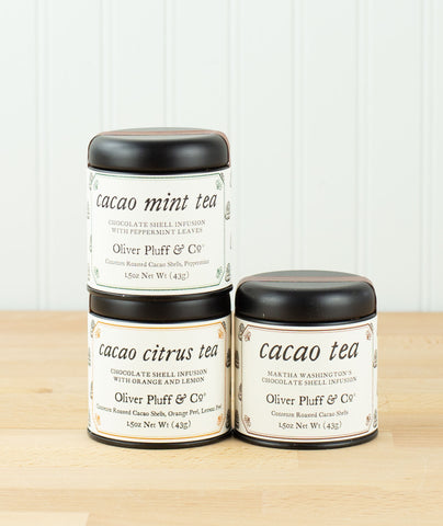 Oliver Pluff Cacao Shell Teas