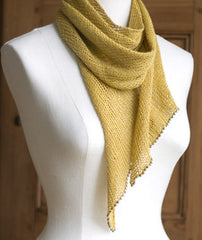 Linen Bias Scarf Project