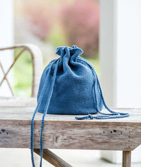 Oval Crocheted Bucket Bag Using Rowan Handknit Cotton