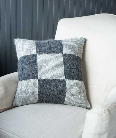Garter Block Nine Patch Pillow Cover - Lang Yara Version