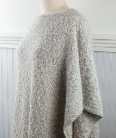 Plush Poncho Using Rowan Alpaca Classic