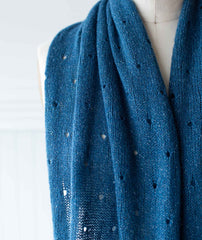 Polka Dot Scarf Using Shibui Pebble