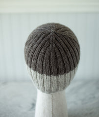 Pressed Rib Cap & Muffler Using Berroco Ultra Alpaca Natural
