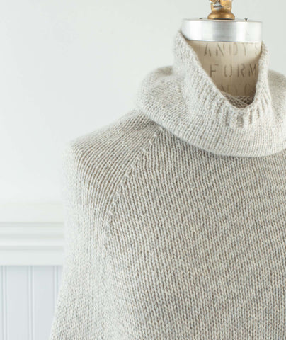 Princeton Capelet Using Blue Sky Fibers Eco-Cashmere