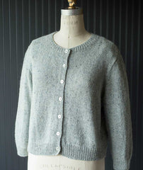 Quintessential Cardigan Using Rowan Felted Tweed