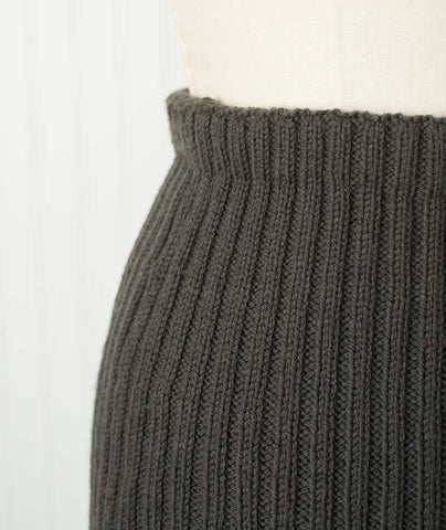 Ribbed Pencil Skirt Using Brooklyn Tweed Arbor