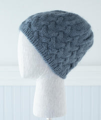 Rise Hat & Cowl Using Shibui Drift/Silk Cloud