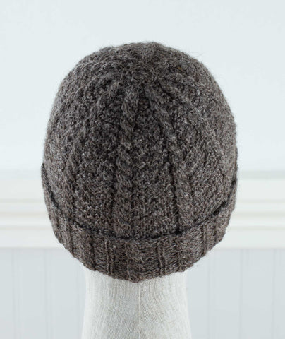 Rombald Hat Using Erika Knight Wool Local