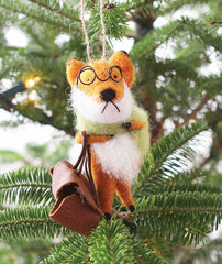 Foxy Fellows Ornaments