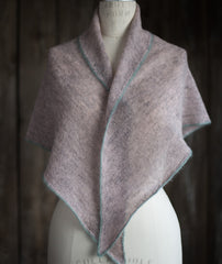 2nd Chance Scarf Using Isager Spinni Wool 1/Silk Mohair