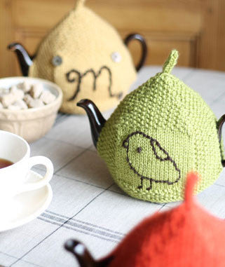 Seed-Stitch Tea Cozy