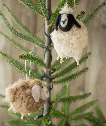 Roost Christmas Ornaments