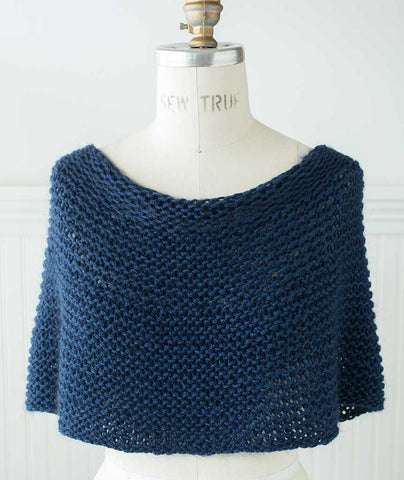 Shoulder Cozy - Shibui Drift and Silk Cloud Version
