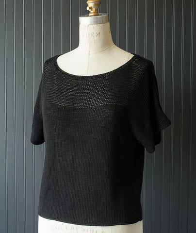Siena Pullover - Erika Knight Studio Linen Version