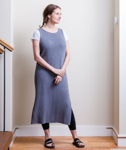 Sleeveless Slipover Using Erika Knight Studio Linen