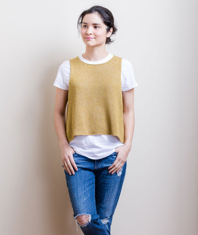 Sleeveless Slipover Using Shibui Twig