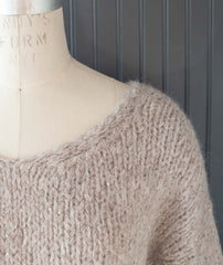 Slouchy Pullover Using Lang Luna & Stacy Charles Crystal