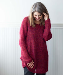 Slouchy Pullover Using Shibui Silk Cloud