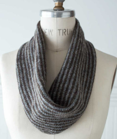Two-Row Striped Cowl