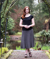 Swingy Linen Skirt - Louet Euroflax Version