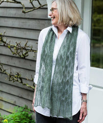 Tea Leaf Lace Scarf & Shawl Pattern