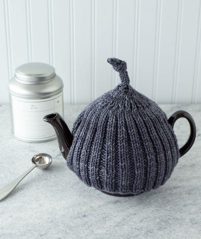 Ribbed Tea Cozy Using Manos Alegria Grande