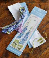 Textile Heritage Cross Stitch Bookmarks