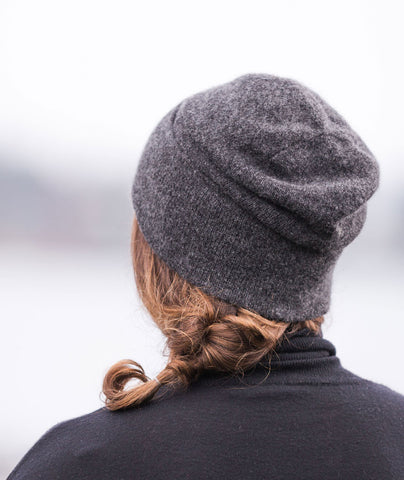 Thinking Cap Using Shibui Pebble
