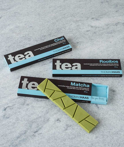 Thomas Haas Chocolate Tea Bars