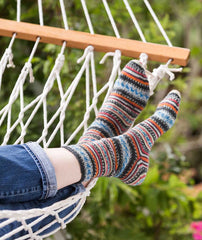 Simple Toe-Up Sock Pattern