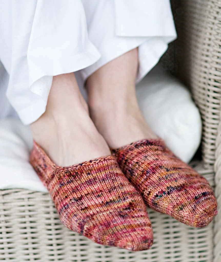 Turkish Bed Socks Pattern – Churchmouse Yarns & Teas