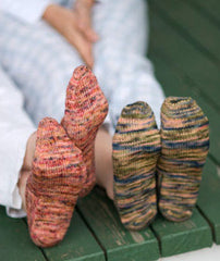 Turkish Bed Socks Pattern