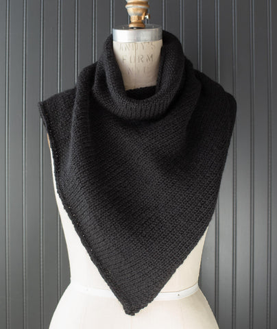 Two-Point Cowl Using Berroco Ultra Alpaca Chunky