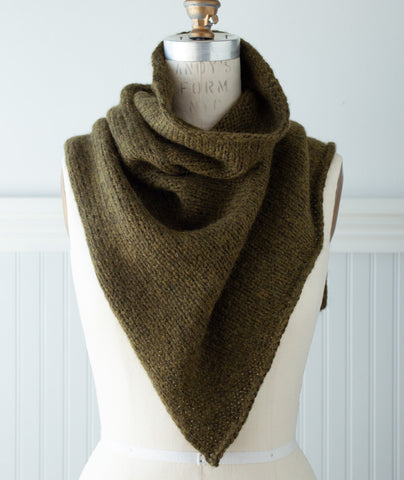 Two-Point Cowl Using Blue Sky Fibers Techno