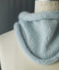 Very Gifted Cowl Using Blue Sky Fibers Brushed Suri