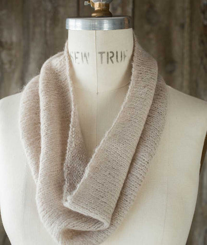 Very Gifted Cowl - Berroco Andean Mist Version