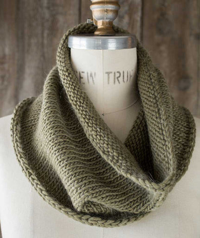Very Gifted Cowl Using Rowan Cocoon