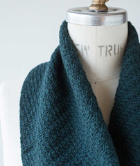 Walking Rib Cowl - Brooklyn Tweed Arbor Version