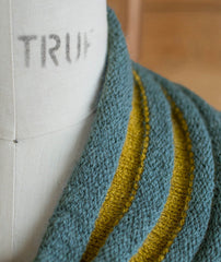 Welted Cowl Using Shibui Maai