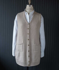 Library Vest - Brooklyn Tweed Arbor Version