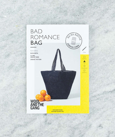 Bad Romance Bag Pattern